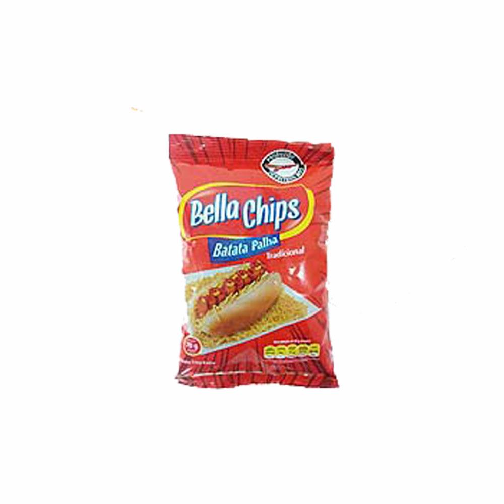 Batata Palha Tradicional Bella Chips 70g (Caixa c/ 24)