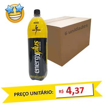 Bebida Energética Energyplus 2l (Pack c/ 6)  - Grupo Borges Atacadista