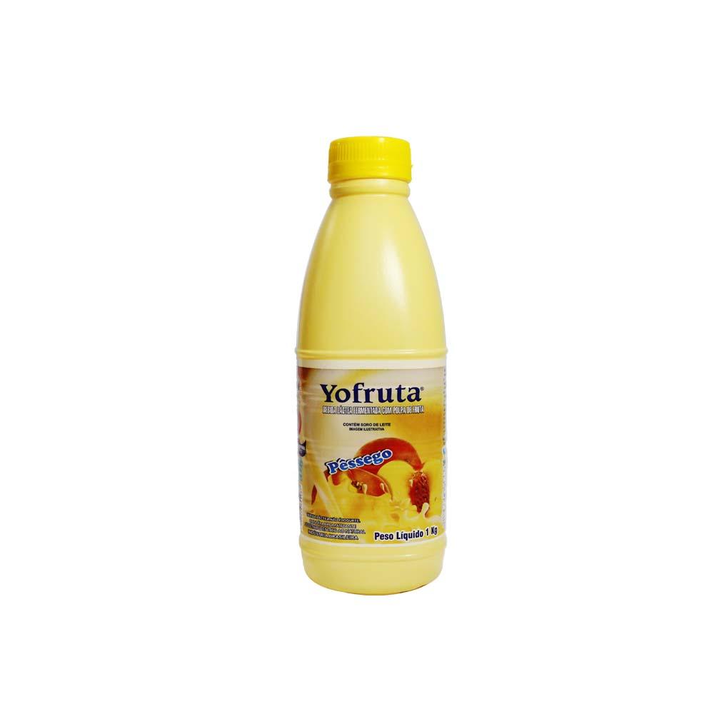 Bebida Láctea Pêssego Yofruta 1kg (Caixa c/ 12)