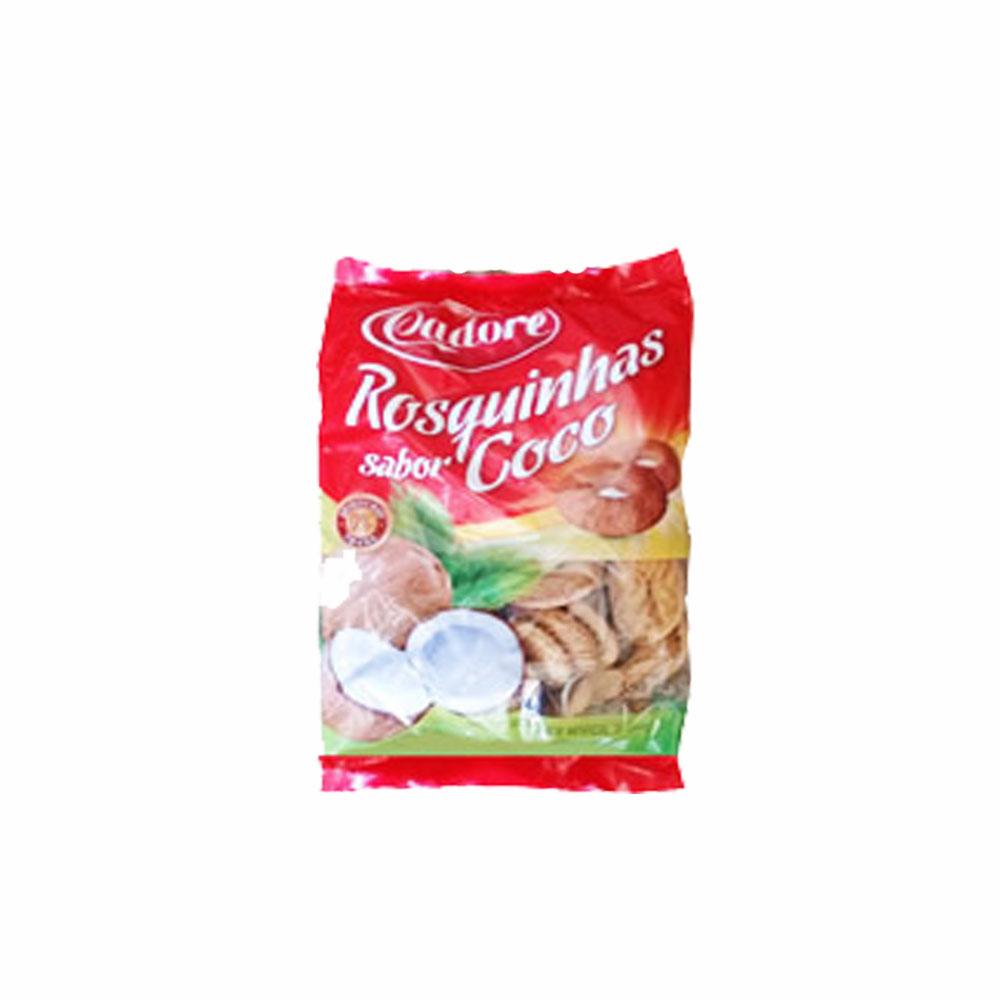 Biscoito Rosquinha Côco Cadore 350g (Caixa c/ 28)