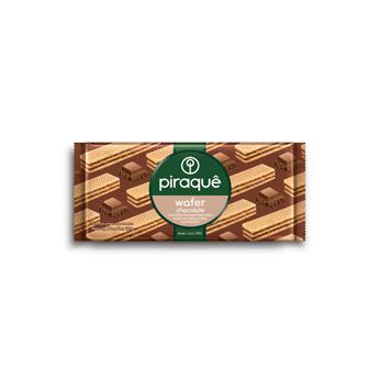 Biscoito Wafer Chocolate Piraquê 160g  - Grupo Borges Atacadista