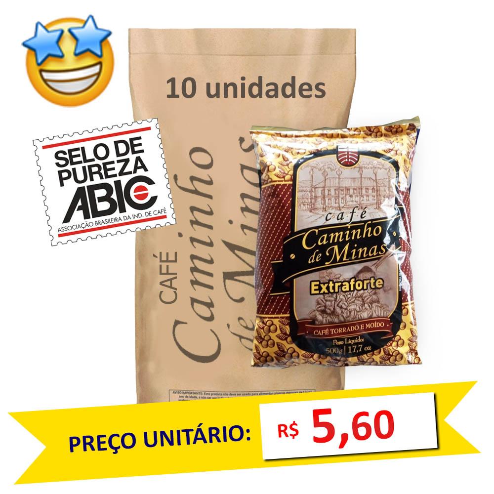 Café Caminho de Minas 500g (Fardo c/ 10)