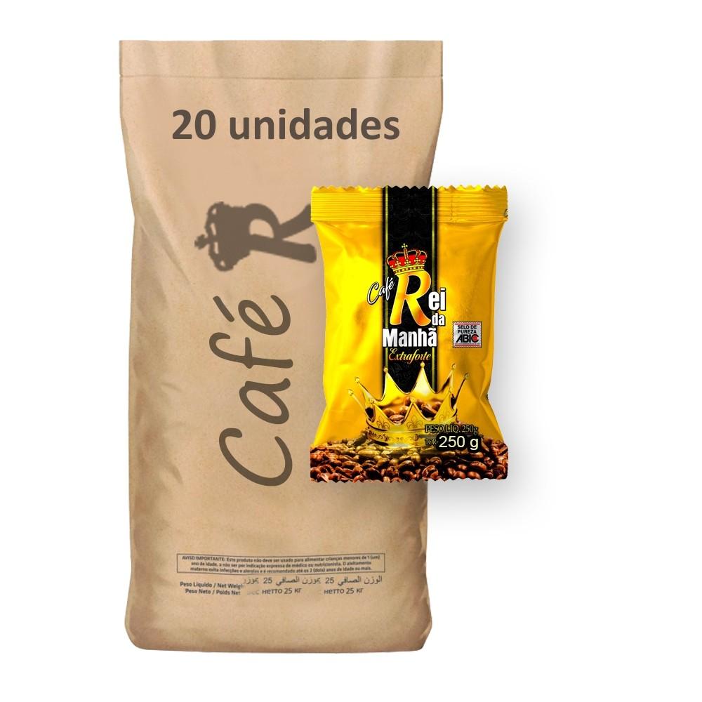 Café Rei da Manhã Extra Forte 250g (Fardo 5kg)