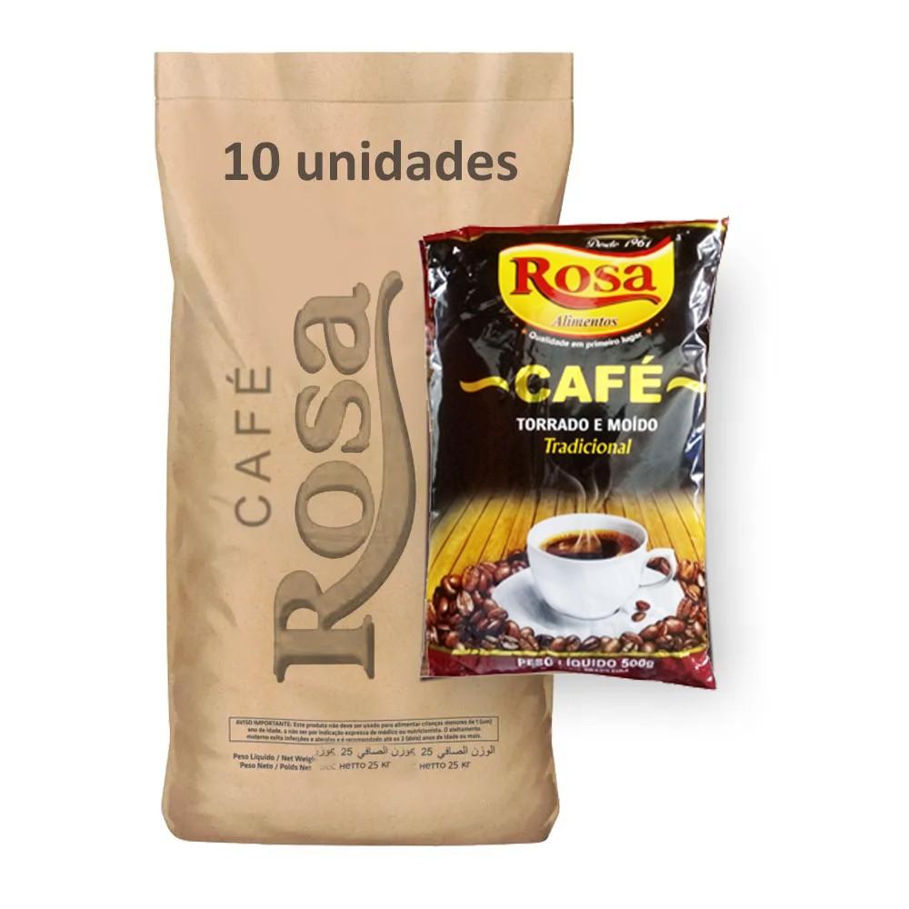 Café Tradicional Rosa 500g (Fardo 5kg)