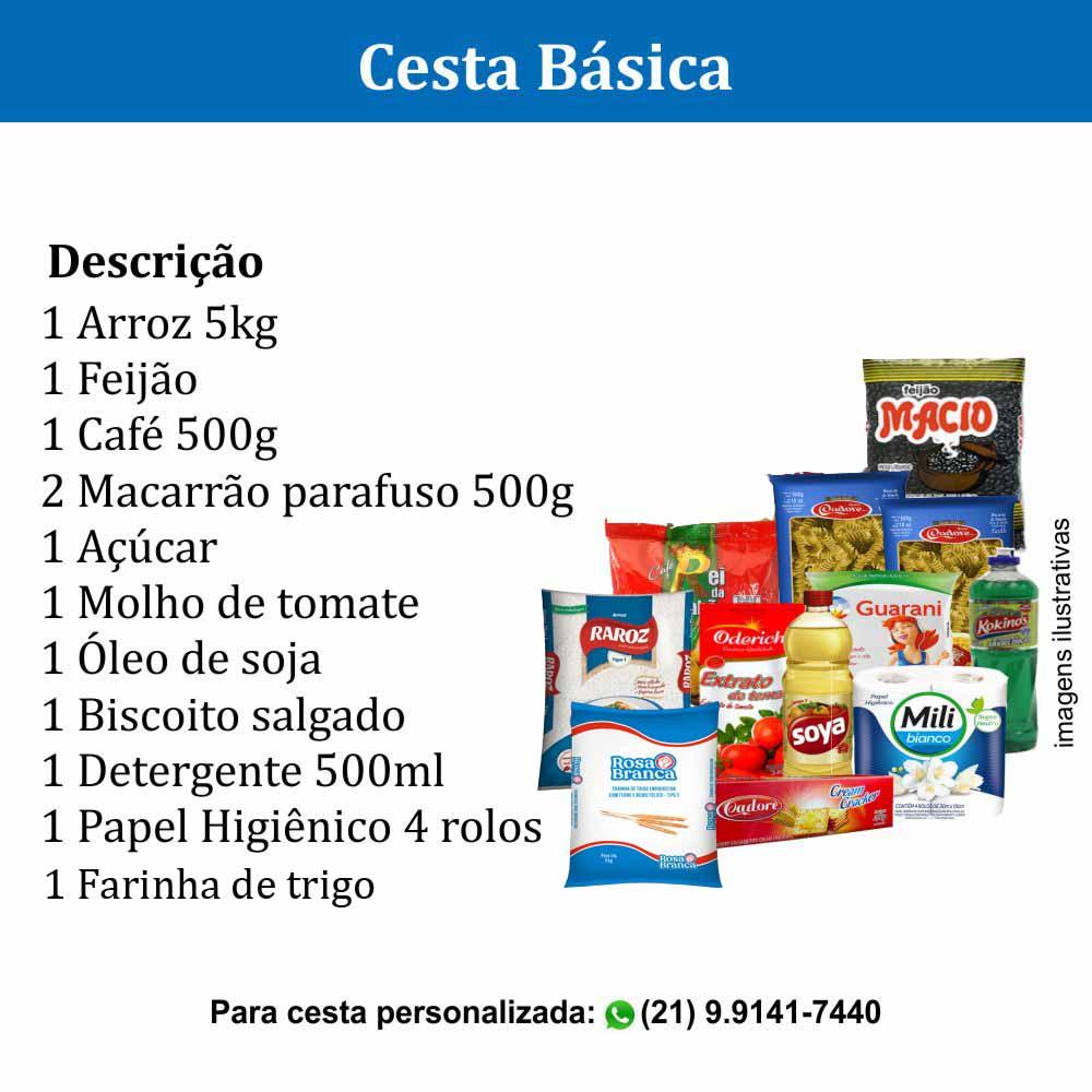 Cesta Básica com 12 itens