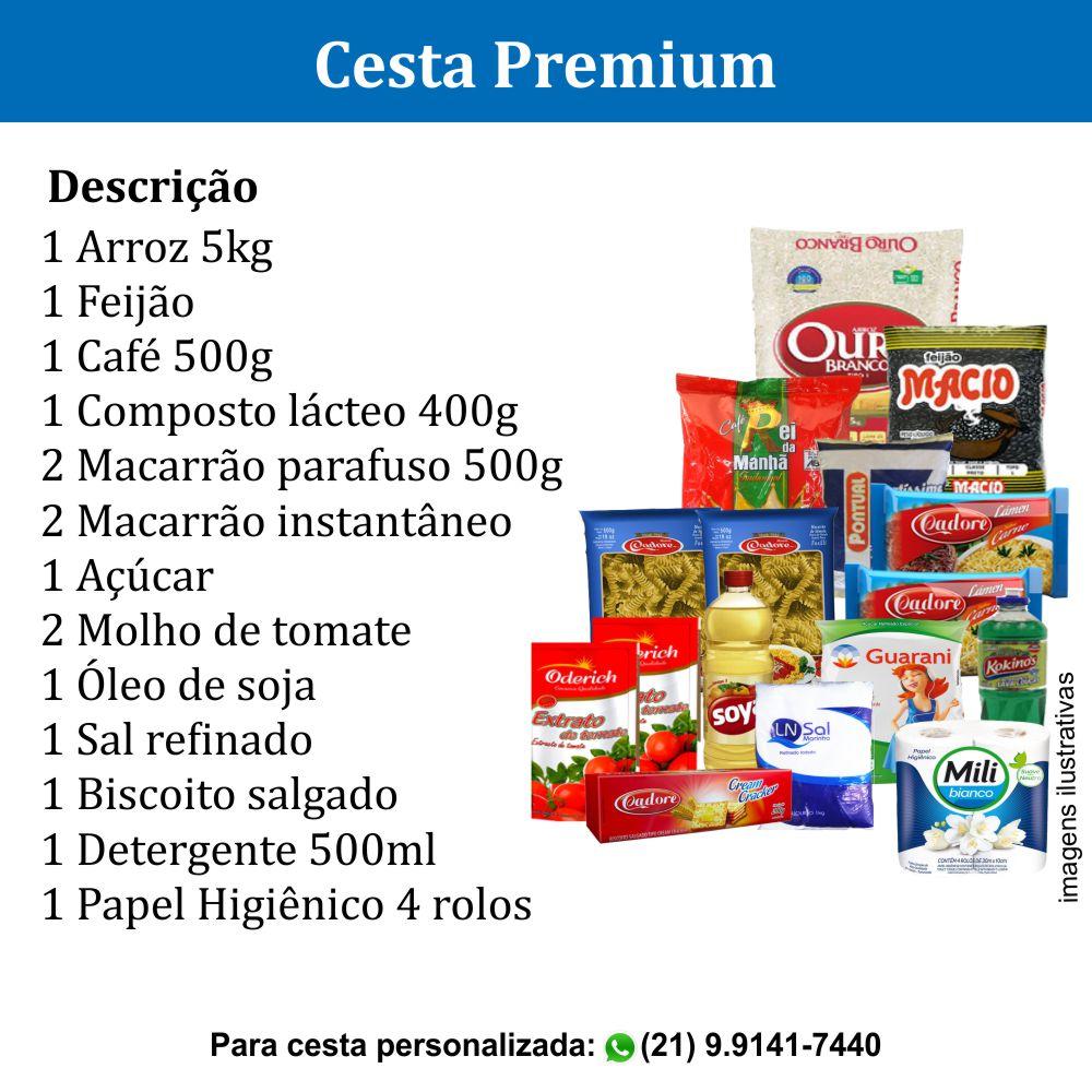 Cesta Premium com 16 itens