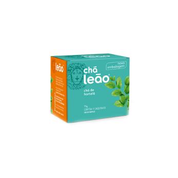 Chá Hortelã Leão 15g - Pacote c/15 saquinhos  - Grupo Borges Atacadista