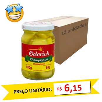 Champignon Oderich 90g (Caixa c/ 12)