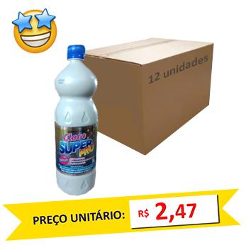 Cloro SuperPro 1l (Caixa c/ 12)