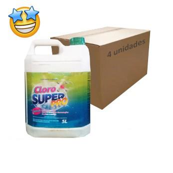 Cloro SuperPro 5l (Caixa c/ 4)