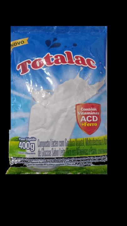 Composto lácteo totalac 400g (fardo c/25)