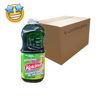 Desinfetante Kokinos Alfazema 2l (Caixa c/6)