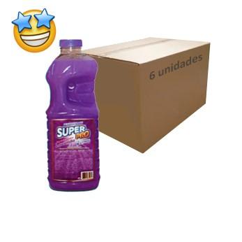 Desinfetante SuperPro  Lavanda 2l (Caixa c/ 6)