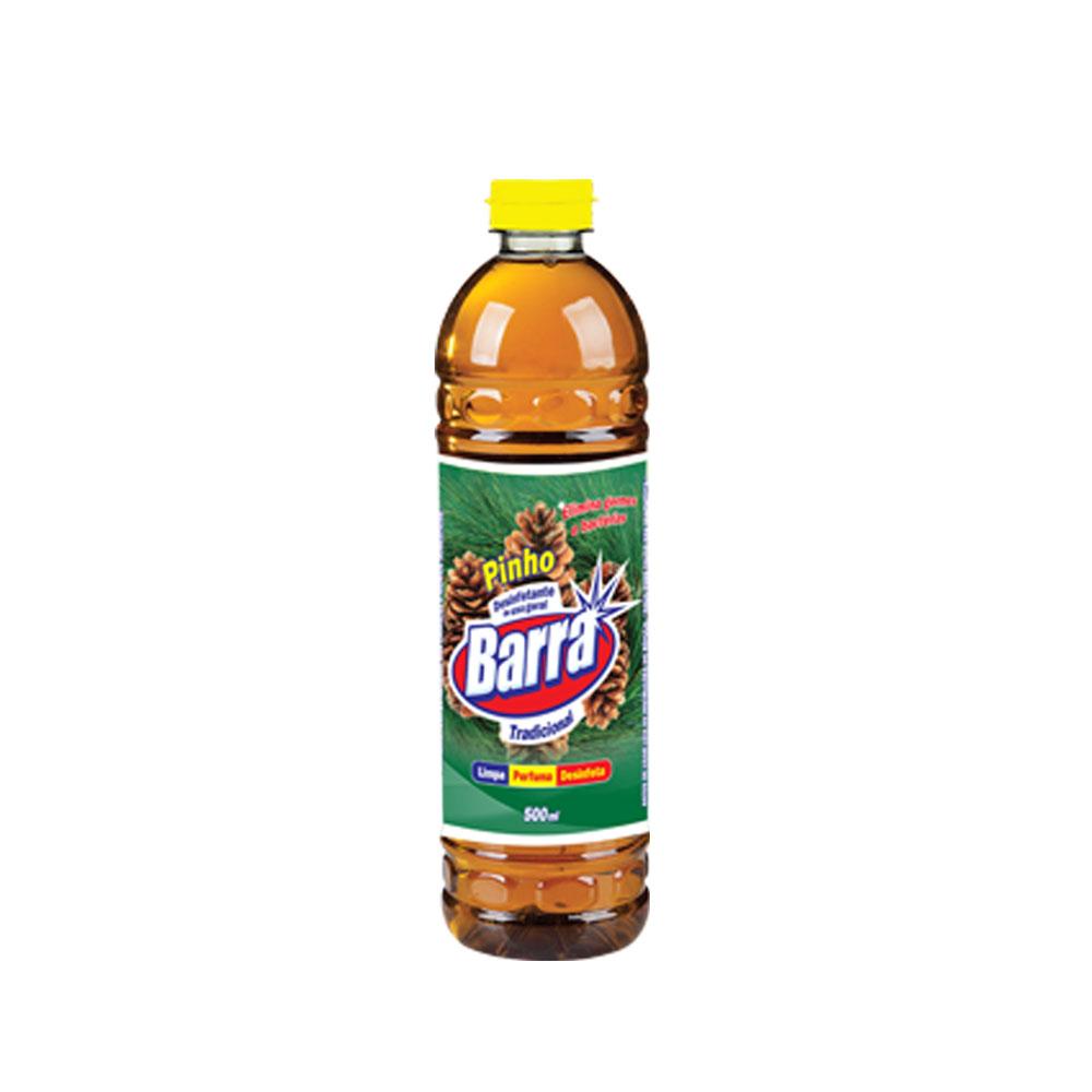 Desinfetante Pinho Trad. Barra 500ml (caixa c/ 12)