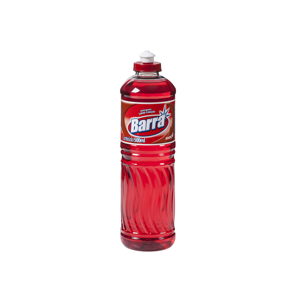 Detergente Maçã Barra 500ml (caixa c/24)
