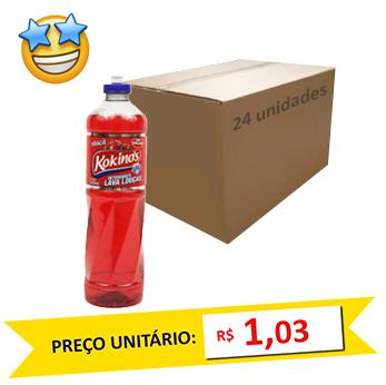Detergente Maçã Kokinos 500ml (Caixa c/ 24)