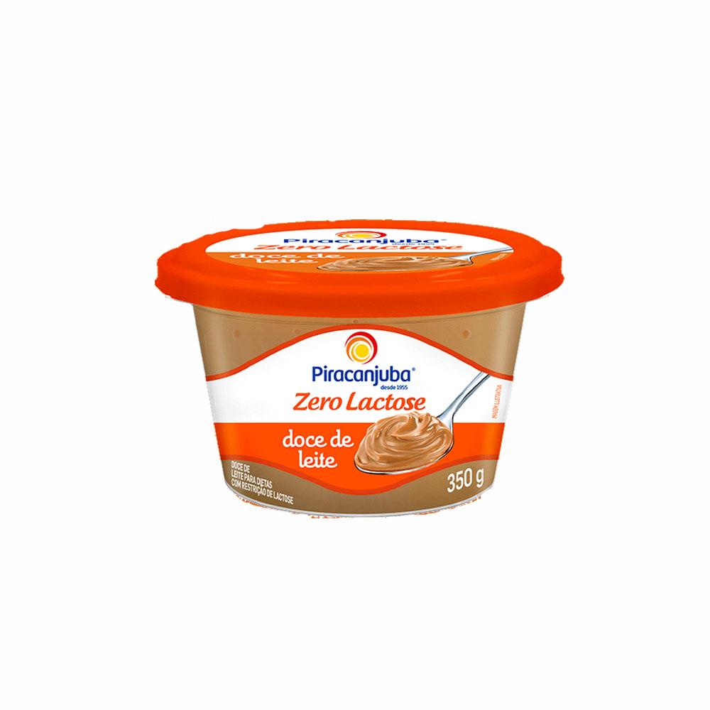 Doce de leite zero lactose Piracanjuba 350g (caixa c/40)