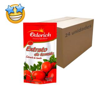 Extrato de Tomate Oderich 340g (Caixa c/ 24)