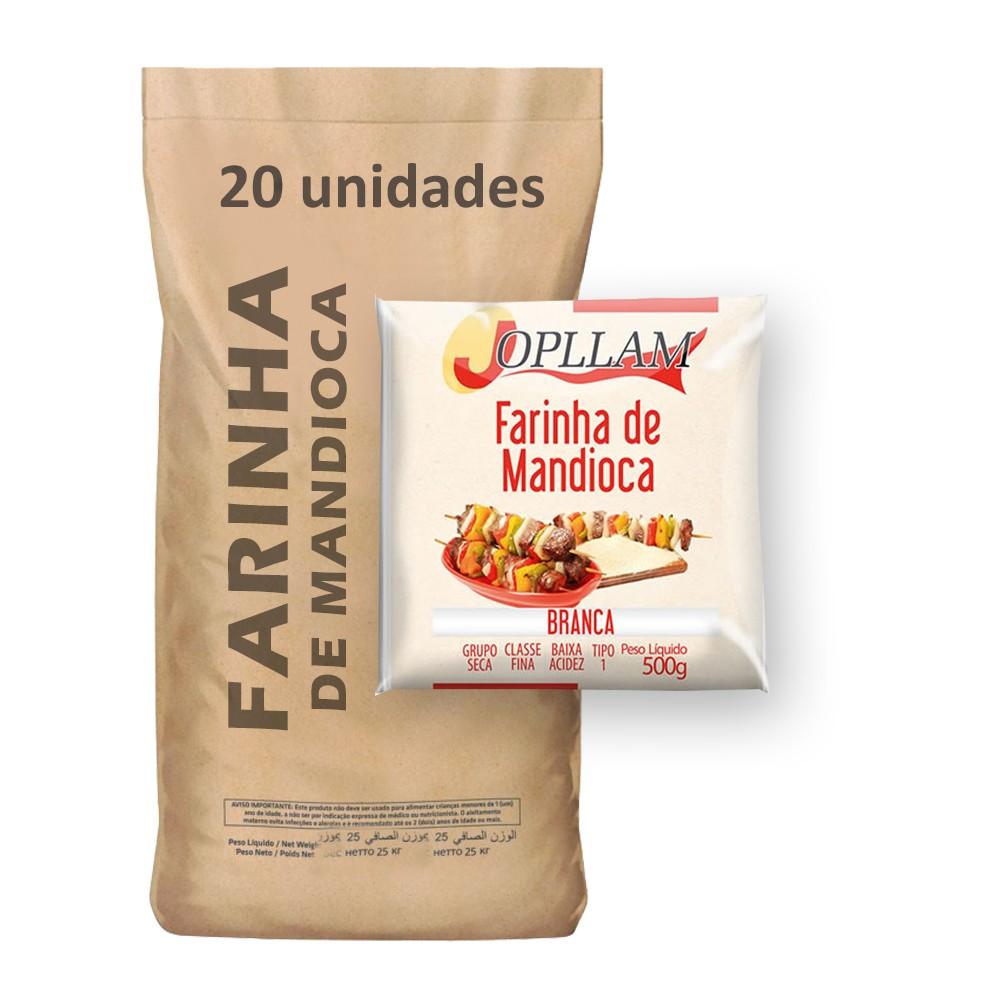 Farinha de Mandioca Jopllam kg (Fardo 20kg)  - Grupo Borges Atacadista