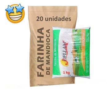 Farinha de Mandioca Jopllam kg (Fardo c/ 20)