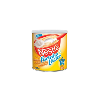 Farinha Láctea Nestlé 400g  - Grupo Borges Atacadista