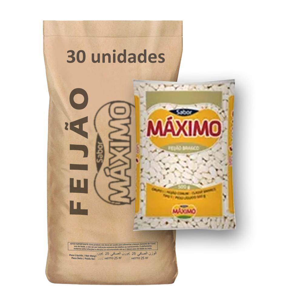 Feijão Branco Tipo1 Máximo (Fardo 30kg)  - Grupo Borges Atacadista