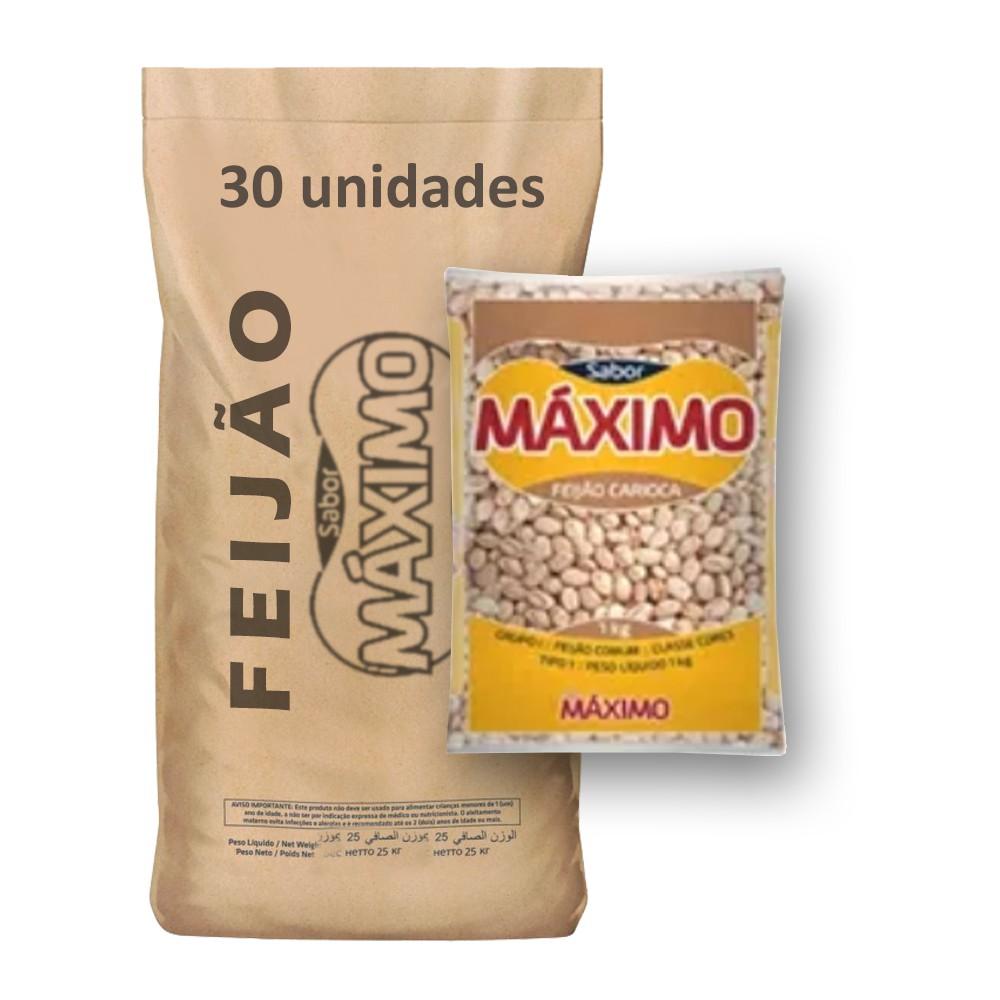 Feijão Carioca Tipo1 Máximo (Fardo 30kg)  - Grupo Borges Atacadista