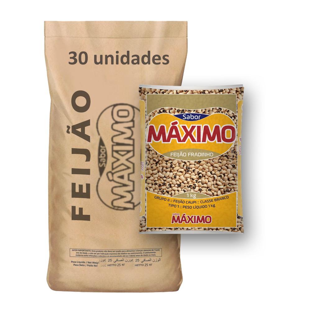 Feijão Fradinho Tipo1 Máximo (Fardo 30kg)  - Grupo Borges Atacadista