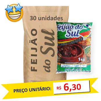 Feijão Preto Tipo1 Do Sul (Fardo 30kg)