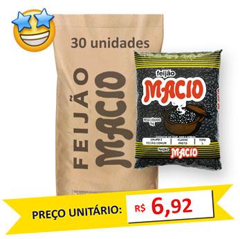 Feijão Preto Tipo1 Macio kg (Fardo c/ 30)