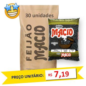 Feijão Preto Tipo1 Macio (Fardo 30kg)