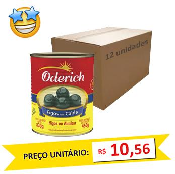Figos em Calda Oderich 450g (Caixa c/ 12)