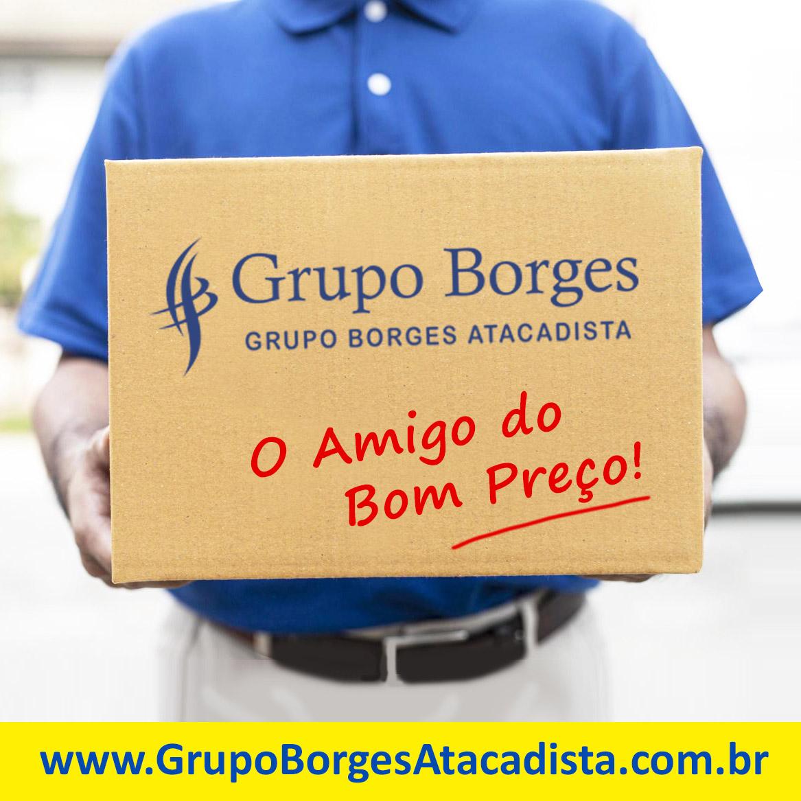 Kit Cesta Básica n.º1  - Grupo Borges Atacadista
