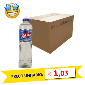 Detergente Clear Kokinos 500ml (Caixa c/ 24)