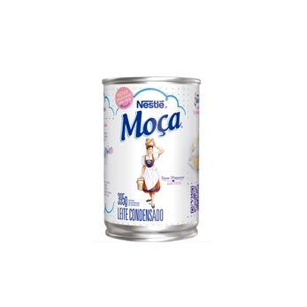 Leite Condensado Moça Nestlé 395g  - Grupo Borges Atacadista