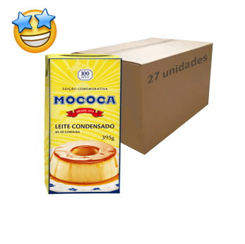 Leite Condensado Mococa 395g (Caixa c/ 27)