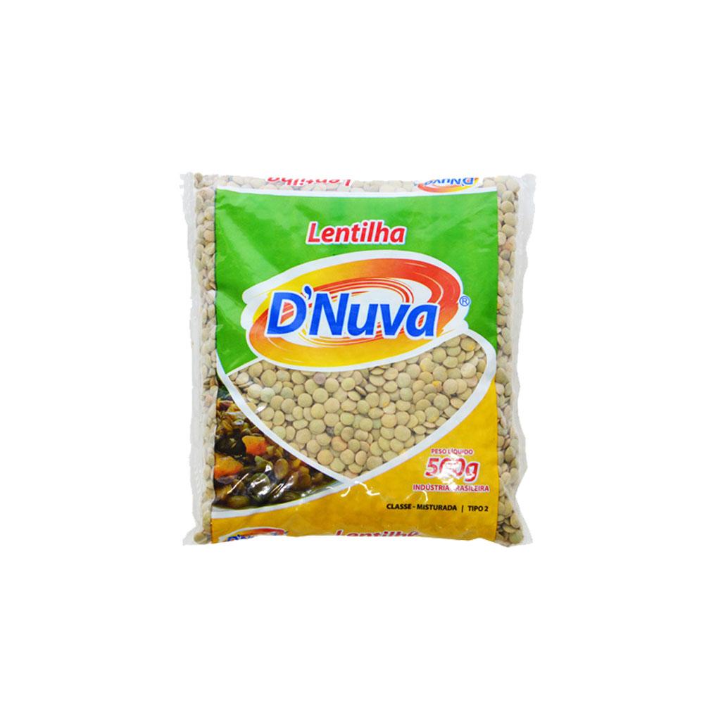 Lentilha D'Nuva 500g (fardo c/20)