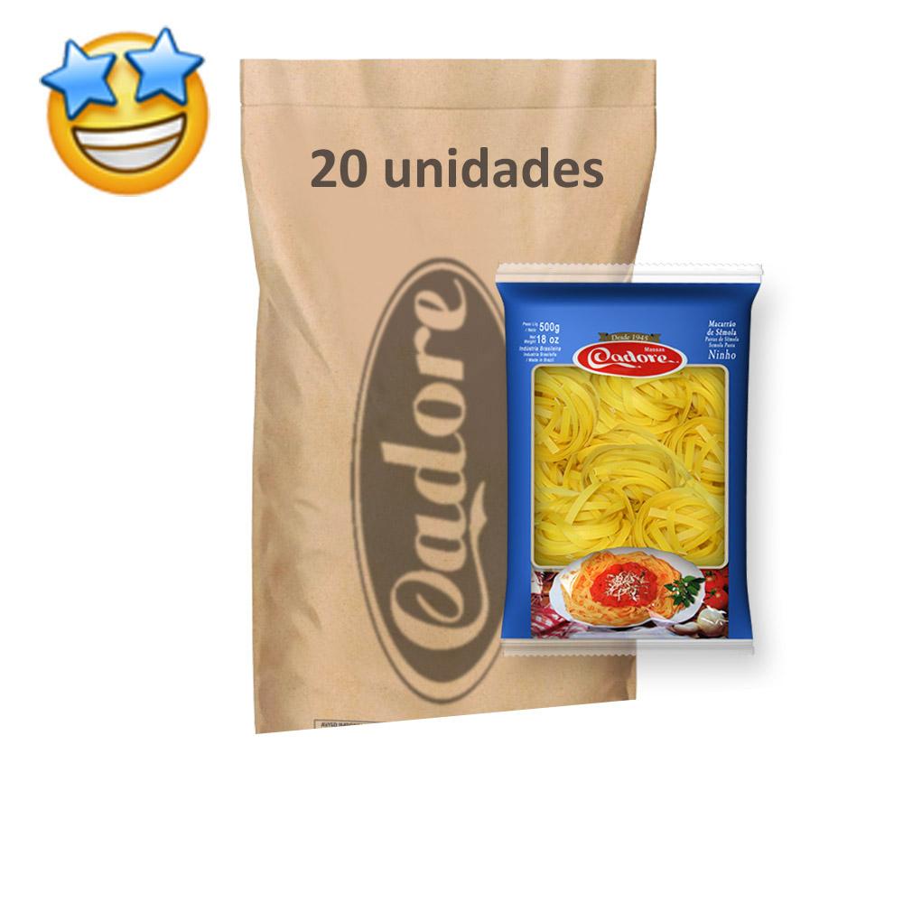 Macarrão Sêmola Ninho Cadore 500g (Fardo c/ 20)