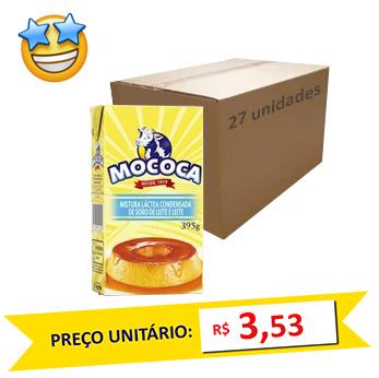Mistura Láctea Condensada Mococa 395g (Caixa c/ 27)