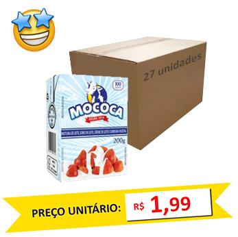 Mistura Láctea Creme Mococa 200g (Caixa c/ 27)