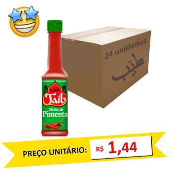 Molho de Pimenta Taíb 150ml (Caixa c/ 24)