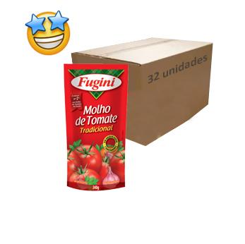 Molho de Tomate Fugini 340g (Caixa c/ 32)