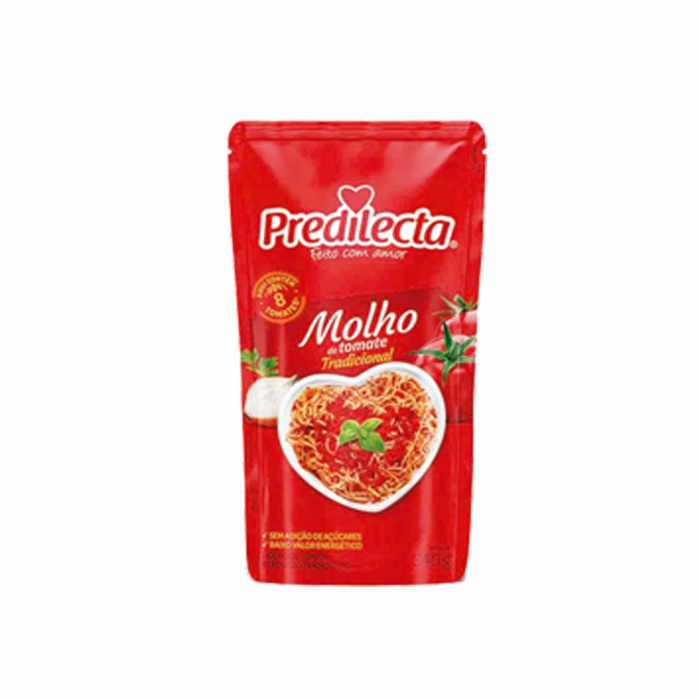 Molho de tomate Predilecta 340g (caixa c/24)