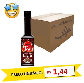 Molho Inglês Taíb 150ml (Caixa c/ 24)