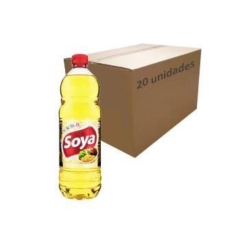 Óleo de Soja Soya 900ml (Caixa c/ 20)  - Grupo Borges Atacadista