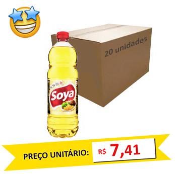 Óleo de Soja Soya 900ml (Caixa c/ 20)
