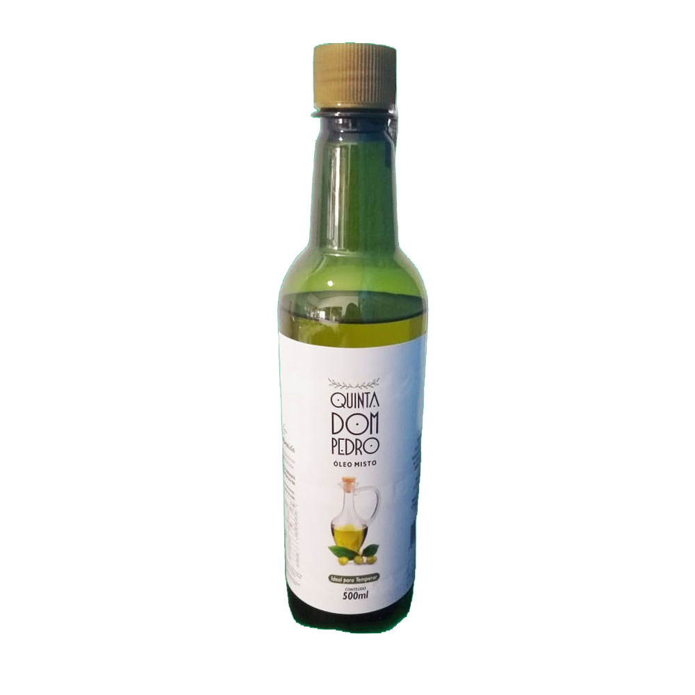 Óleo misto de azeite 500ml Quinta Dom Pedro  (Caixa c/12)