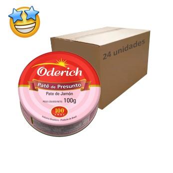 Patê de Presunto Oderich 100g (Caixa c/ 24)