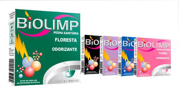 Pedra sanitária Bio Limp (cx36) Aroma: Floresta