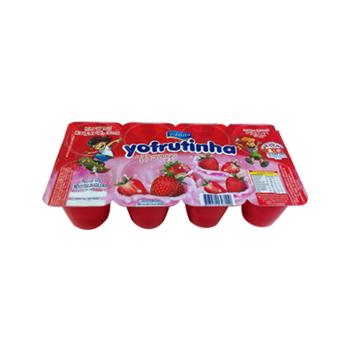 Iogurte Petit Suisse Morango Yofrutinha - Caixa c/ 12